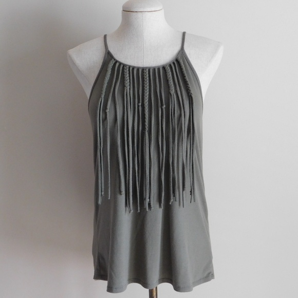 Fringe Top Maxi Dress Maurice's